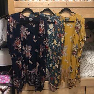 3 Angie Kimonos